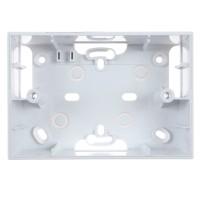 Cadru aparent Schneider Electric Unica Allegro MGU8.103.18, 3 module, alb, pentru priza / intrerupator