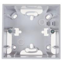 Cadru aparent Schneider Electric Unica Basic / Unica Colors MGU8.002.18, 2 module, alb, pentru priza / intrerupator