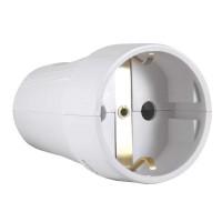 Cupla bipolara CB-CP N-96318, IP20, alba, cu contact protectie, 16 A, 250 V