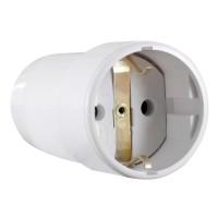 Cupla bipolara CB-CP-SC 44757, IP20, alba, cu contact protectie pe suport ceramic, 16 A, 250 V