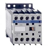 Contactor auxiliar 24V CC CA3KN22BD