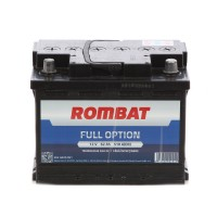 Baterie auto Rombat Full Option 12 V, 62 Ah, 510 A, 24.2 x 17.5 x 16.8 cm