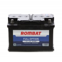 Baterie auto Rombat Full Option 12V, 72 Ah, 600 A, 27.8 x 17.5 x 15.3 cm