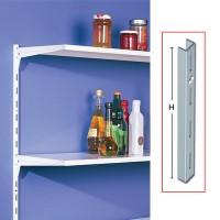 Vergea verticala, 1RG, metal, alb, 1500 mm, set 2 bucati