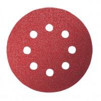 Disc abraziv cu autofixare, pentru lemn, Bosch 2608605071, 125 mm, granulatie 120, set 5 bucati