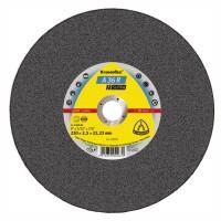 Disc debitare inox, Klingspor A 36 R Supra, 230 x 22.23 x 2.5 mm