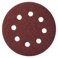 Disc abraziv cu autofixare, pentru lemn / metale, Klingspor PS 22 K, 125 mm, granulatie 120, set 5 bucati