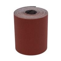 Rola panza abraziva pentru lemn, metale, constructii, Klingspor KL 382 J, granulatie 80, rola 10 m x 120 mm