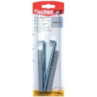 Diblu universal din nylon, cu surub cu carlig in vinclu, Fischer S10RWK, 10 mm