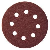 Disc abraziv cu autofixare, pentru lemn / metale, Klingspor PS 22 K, 125 mm, granulatie 80, set 5 bucati