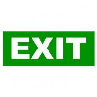 Eticheta Exit aestetica 6W