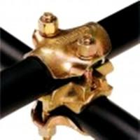 Brida ortogonala pentru schela, otel zincat, 4B 53220