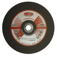 Disc debitare otel, Carbochim 11ABACH1TRS, 230 x 22.2 x 2.5 mm