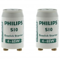 Starter S10 Ecoclick, 4 - 65W Philips - 2 buc