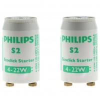 Starter S2, 4 - 22W Philips - 2 buc