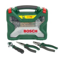 Set 70 accesorii, Bosch X-Line, 2607017197