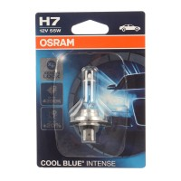 Bec auto pentru far Osram H7 Cool Blue Intense, 55 W, 12 V