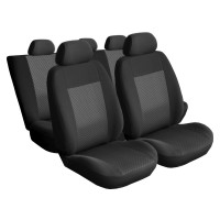 Huse auto pentru scaun, Carmax Elegance, gri, set 9 bucati