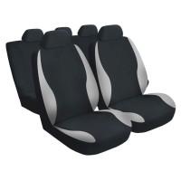 Huse auto pentru scaun, Carmax Premier, gri, set 9 bucati