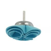 Perie cupa, cu tija, din pasla, Peromex, diametru 75 mm