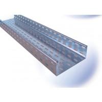 Jgheab metalic 12-302, otel galvanizat, 0.75 x 35 x 150 mm