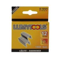 Capse tapiterie, 12 mm, Lumytools, LT72121, set 1000 bucati