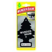 Odorizant auto, bradut, Wunder - Baum, Black, 7.6 x 0.3 x 19 cm