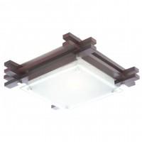 Plafoniera Edison 48324, 1 x E27, wenge + alb mat