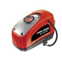 Compresor auto Black & Decker, multifunctional asi300, 220 / 12V, 11BAR/160PSI