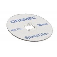 Disc debitare metal, Dremel EZ SpeedClic SC456, 38 mm