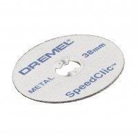 Disc debitare metal, Dremel EZ SpeedClic SC456, 38 mm, set 5 bucati