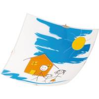 Plafoniera Home KL 5914, 1 x E27, multicolora