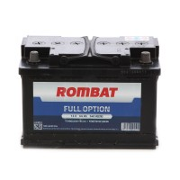 Baterie auto Rombat full option 12 V, 66 Ah, 540 A, 28x17,5x19cm