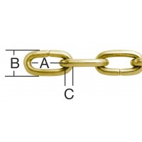 Lant pentru ceas, auriu, 1.1 mm