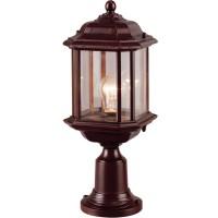 Stalp de iluminat ornamental Nuvola 2 KL 5473, 1 x E27, H 43 cm, maro