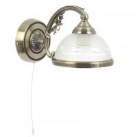Aplica Camille KL 7019, 1 x E27, bronz + alb