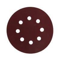 Disc abraziv cu autofixare, pentru lemn / vopsea / lac / chit, Carbochim AS SV1, 125 x 22 mm, granulatie 320