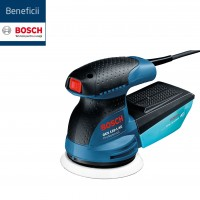 Slefuitor cu excentric, Bosch Professional GEX 125-1 AE, 250 W