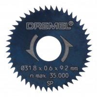 Disc circular, pentru lemn, Dremel 26150546JB, 31.8 mm, 2 bucati