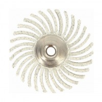 Perna abraziva fina, pentru plastic / metale moi / otel, Dremel 2615S472JA, granulatie 120