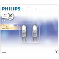 Bec halogen G4 Philips CapsuleLine mini 12V 7W lumina calda
