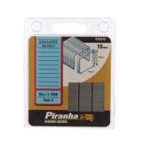 Capse tip 2, 10 mm, Black&Decker, Piranha X70210, set 1200 bucati