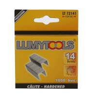 Capse tapiterie, 14 mm, Lumytools LT72141, set 1000 bucati
