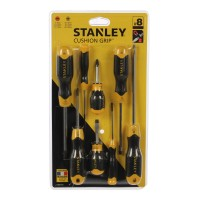 Set 8 surubelnite mixte, Stanley Cushion 0-65-011