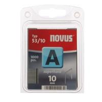 Cleme subtiri, Novus A 53, 10 mm, set 1000 bucati