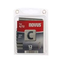 Cleme inguste, Novus C 4, 12 mm, set 1100 bucati