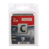 Cleme inguste, Novus C 4, 18 mm, set 1100 bucati