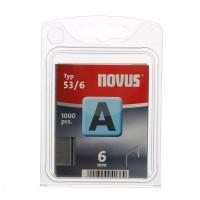 Cleme subtiri, Novus A 53, 6 mm, set 1000 bucati