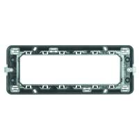 Suport Bticino Matix S506LSAE, 6 module, pentru rama priza / intrerupator
