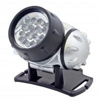 Lanterna LED frontala / fixa Home PLF 19, alimentare baterii (3 x AAA), 0.95W, 4 moduri de iluminare